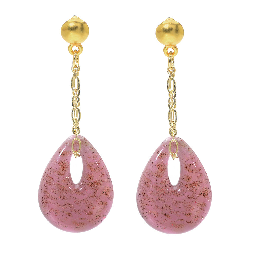 Retired - Veronica Earrings in Pink