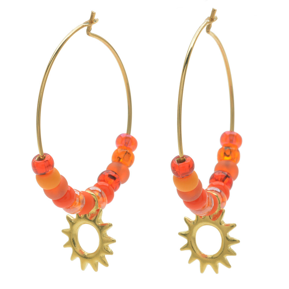 Heat of the Day Earrings