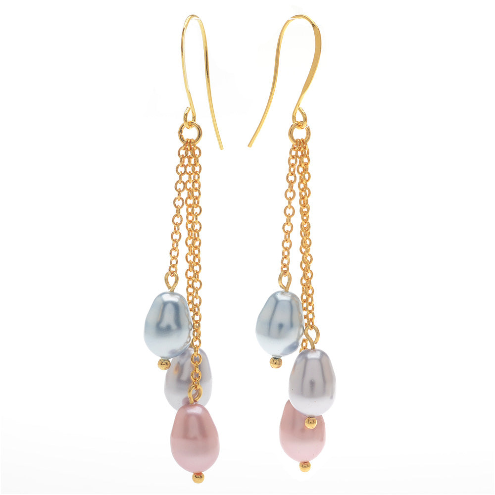 Retired - Easter Egg Pearl Earrings