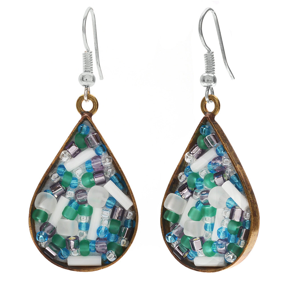 Retired - Druzy Beads Earrings