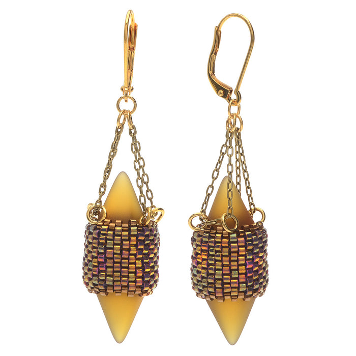 Retired - Summer Lantern Earrings
