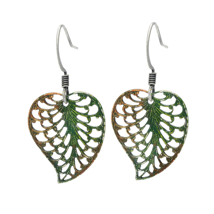 Retired - Rustling Leaves Earrings