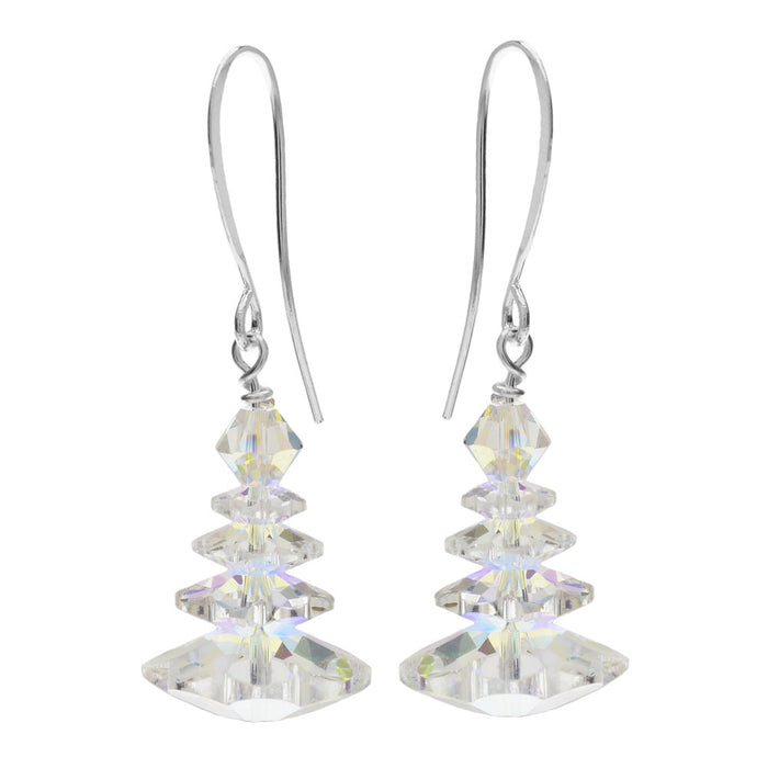 Retired - White Christmas Dream Earrings