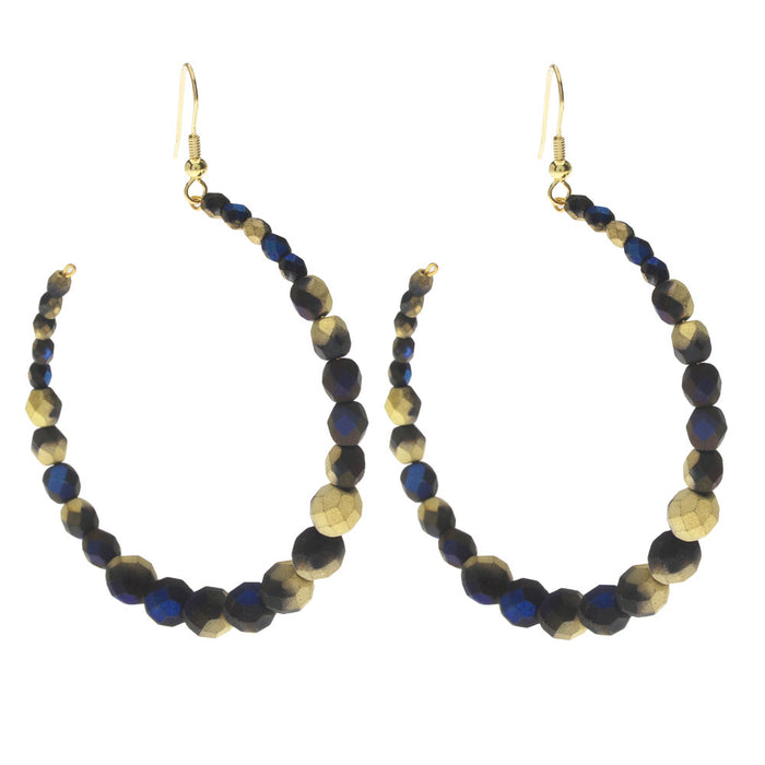Retired - Gold Coast Midnight Earrings