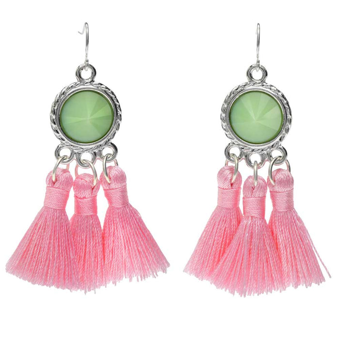 Retired - Strawberry Mint Earrings
