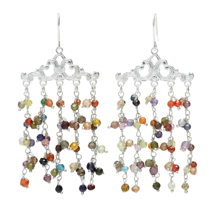 Retired - Gemstone Waterfall Earrings