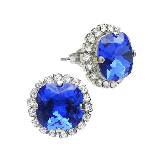 Retired - Something Blue Bridal Earrings