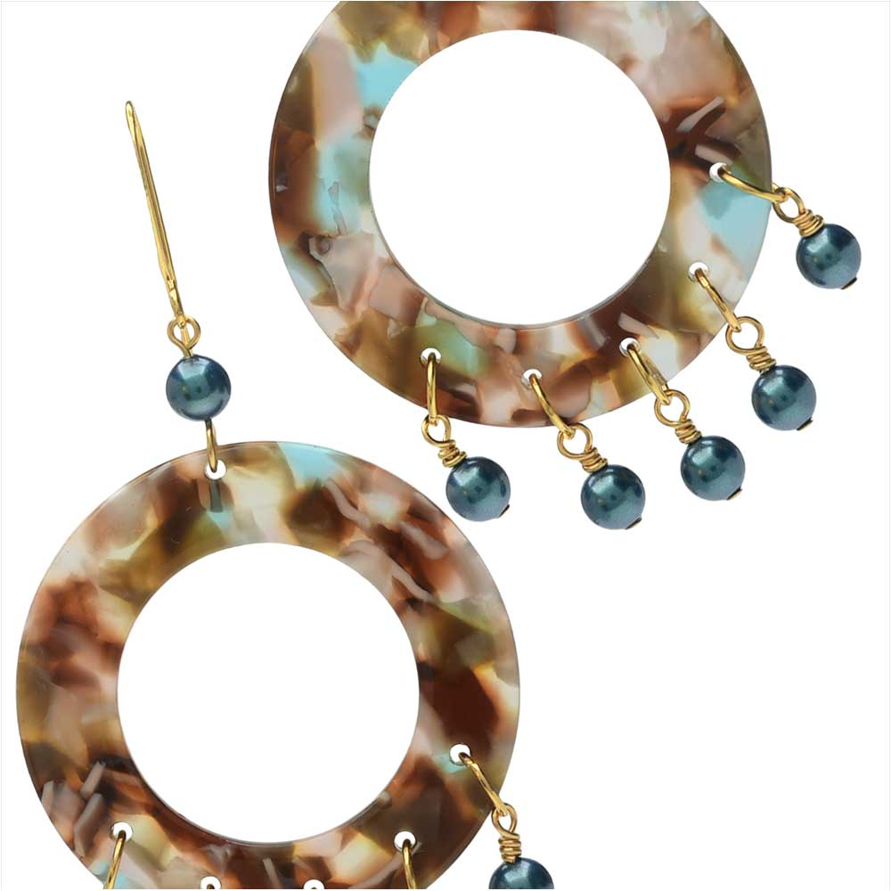 Mermaid Cove Chandelier Earrings