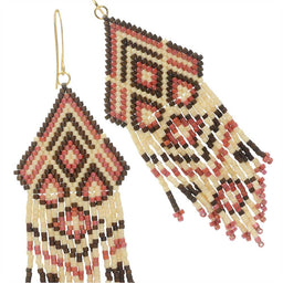 Neapolitan Fringe Earrings