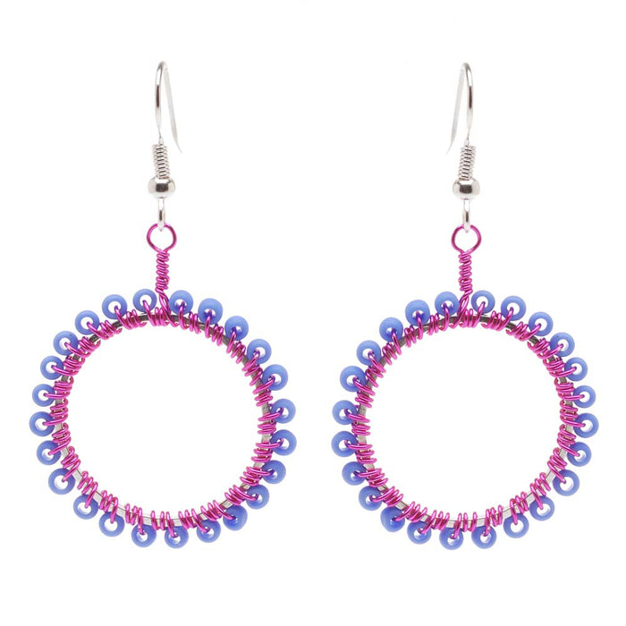 Retired - Hoops of a Different Color Earrings