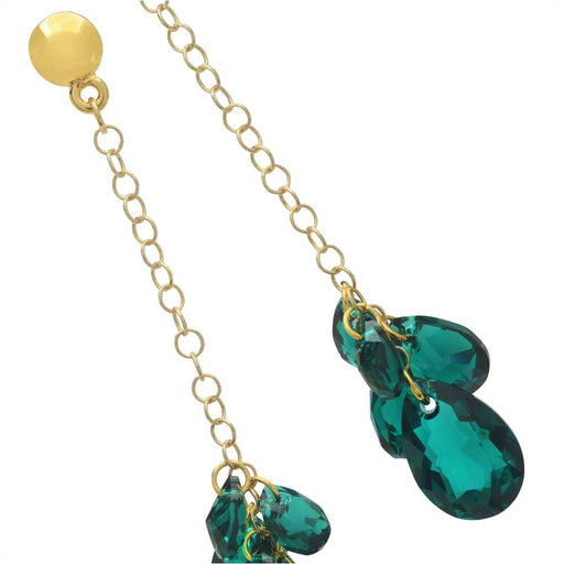 Luxurious Emerald Earrings