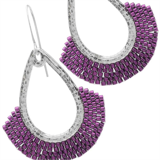 Magenta Heat Earrings