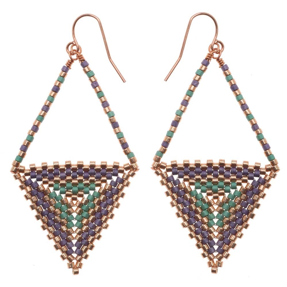 Retired - Equilateral Earrings