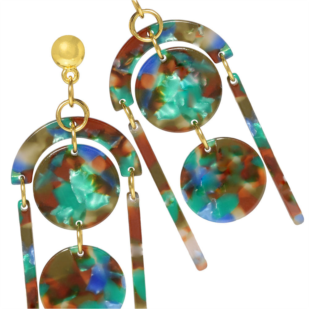 Hawaiian Lagoon Earrings