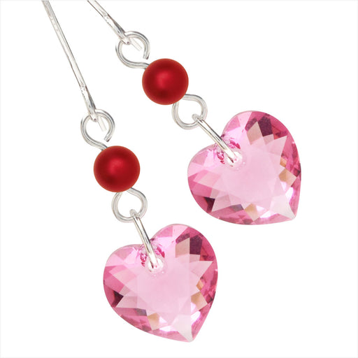 Rouge Heart Earrings