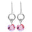 Rosy Disposition Earrings