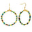 Tierra Hoop Earrings