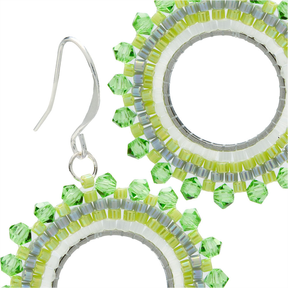 Kalina Earrings in Peridot