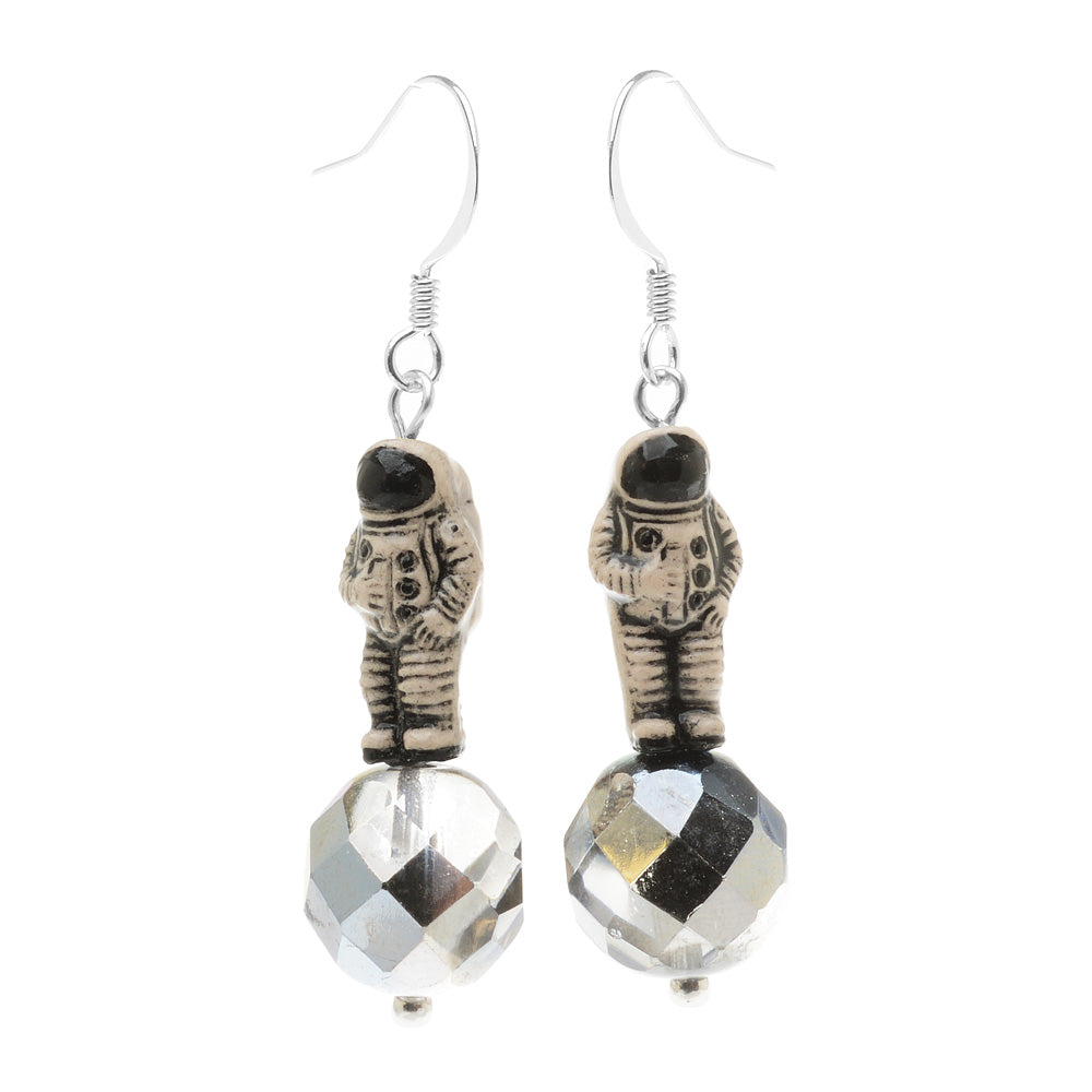 Retired - Man on the Moon Earrings