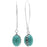 Retired - Turquoise Drops Earrings