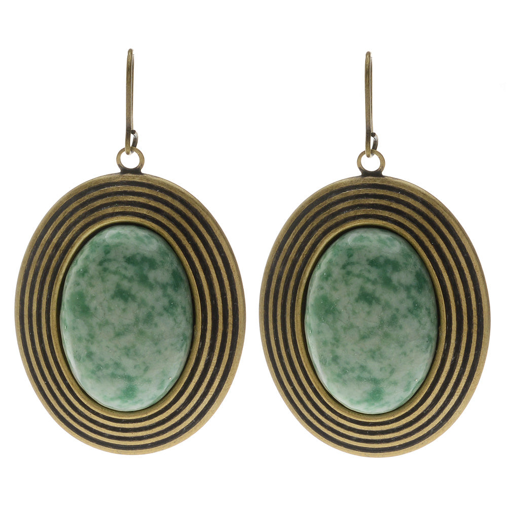Boho Jade Earrings