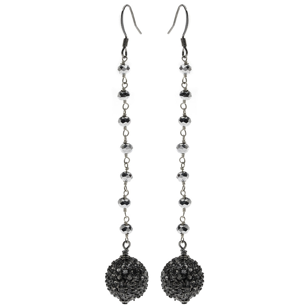 Jeweled Orbit Earrings
