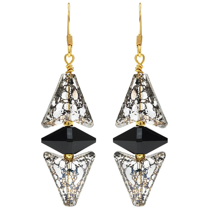 Dark Deco Earrings