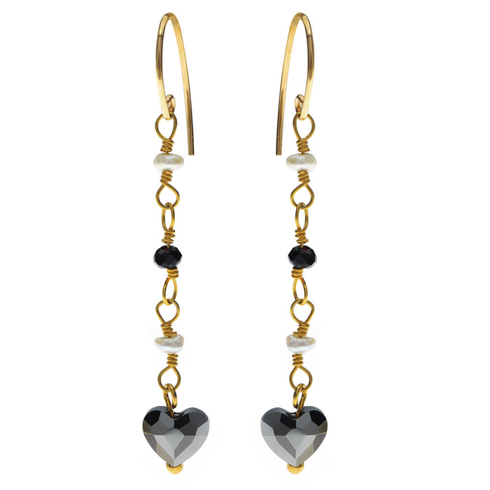 Dark Love Earrings