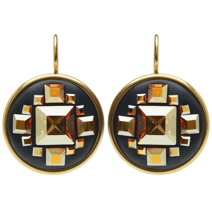 Retired - Sunshine Deco Earrings