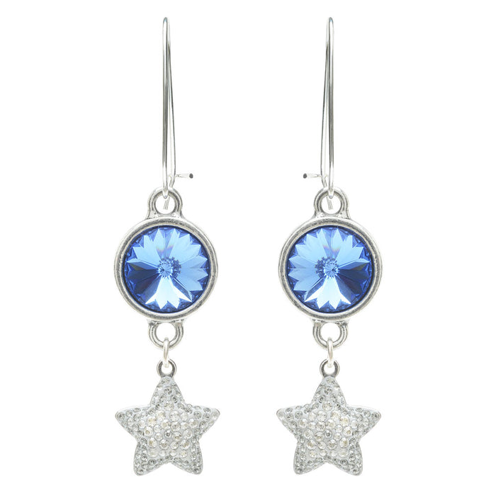 Retired - Sparkly Sapphire Earrings