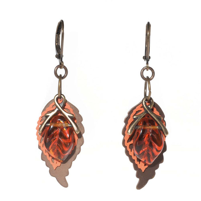 Retired - Leaves of Three Earrings