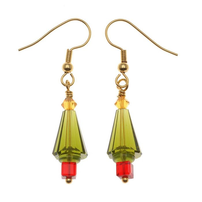 Retired - O Christmas Tree Earrings