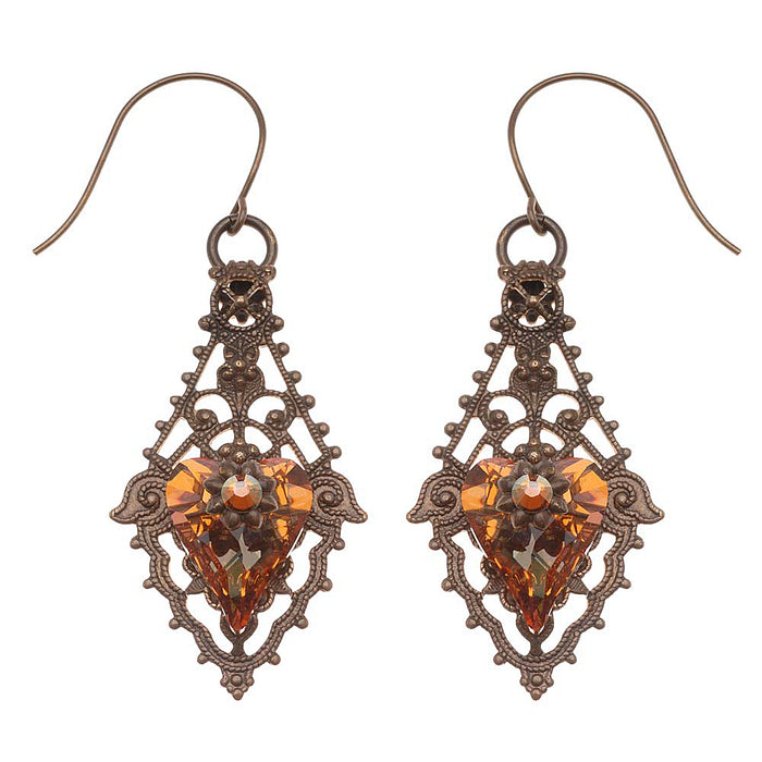 Retired - Hearts Afire Earrings