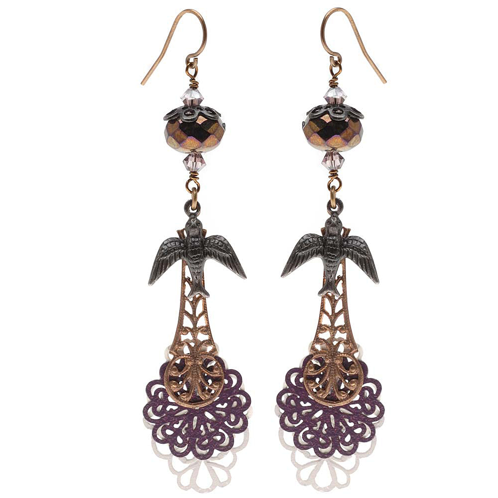 Retired - French Lace Earrings