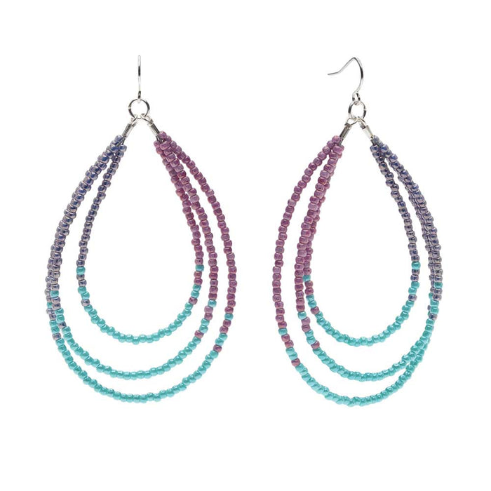 Lustrous Loops Earrings