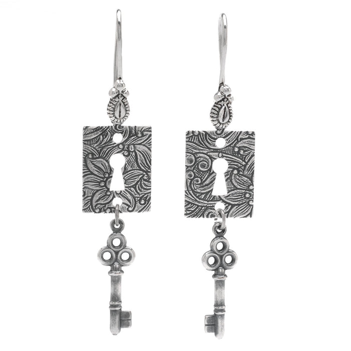 Through the Keyhole Earrings