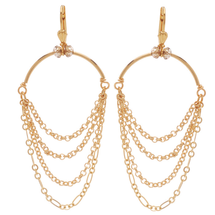 Chained Elegance Earrings