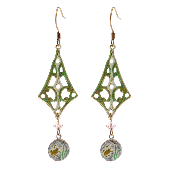 Retired - Spring Leap Earrings