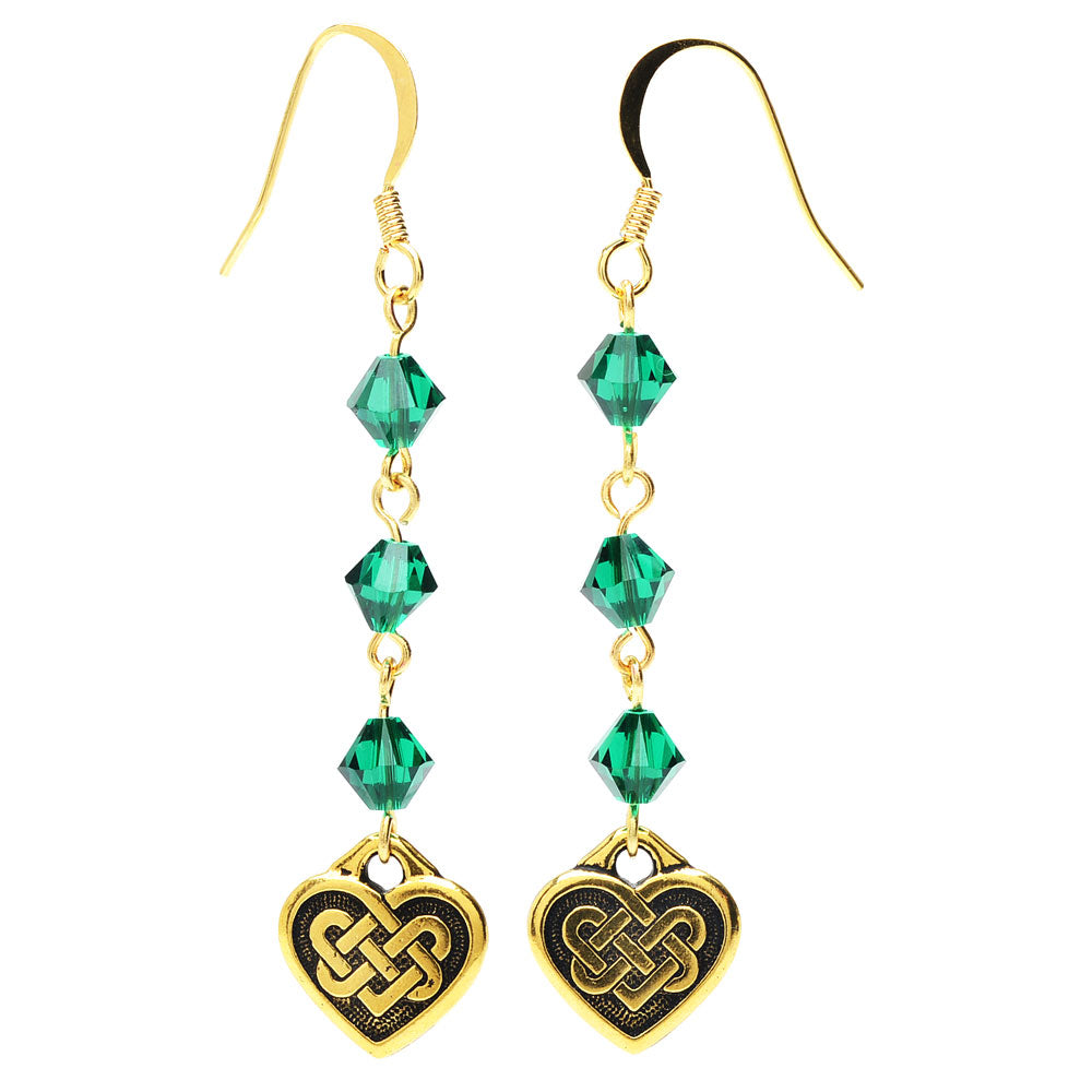 Celtic Hearts Earrings