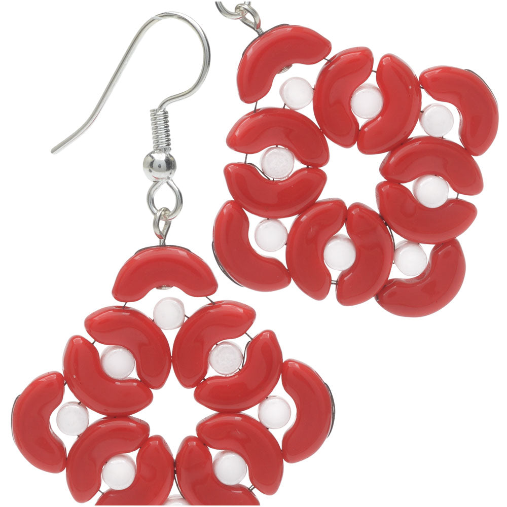 Retired - Mod Wreath Earrings
