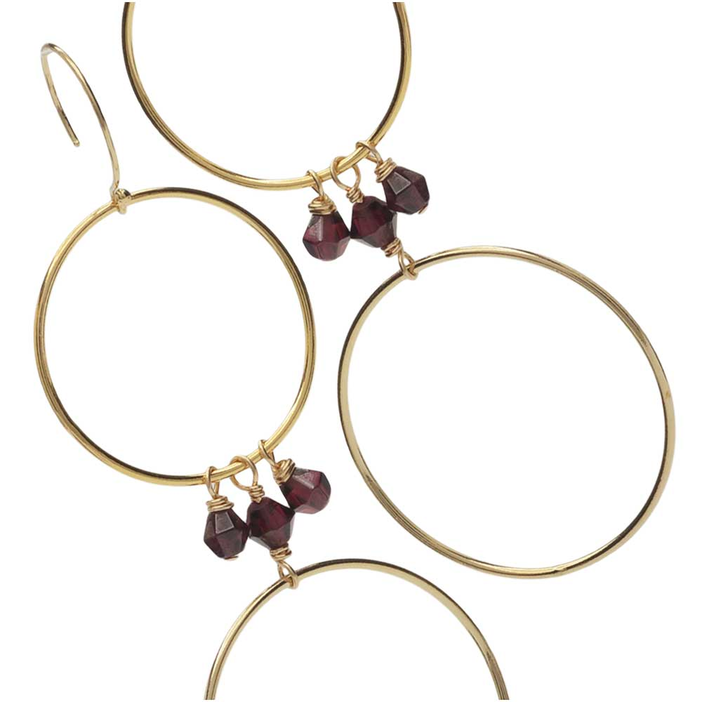 Merlot Earrings