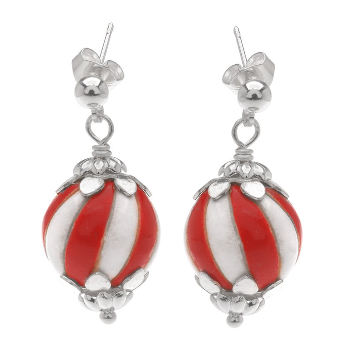 Retired - Candy Stripe Earrings