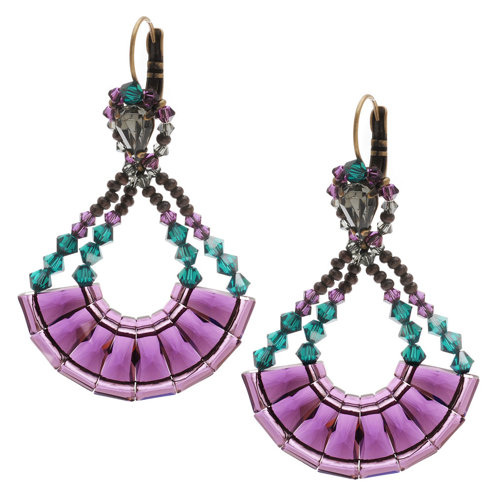 Retired - Decadent Deco Earrings