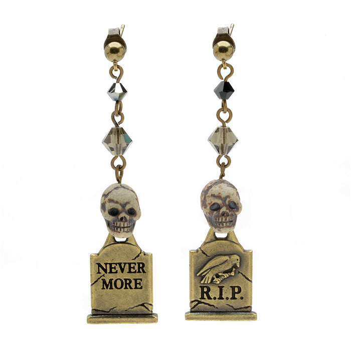 Retired - Night in the Graveyard Earrings