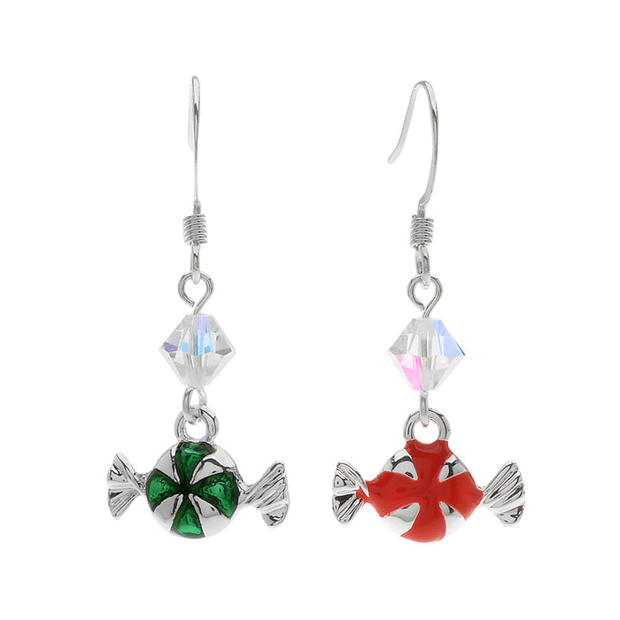 Christmas Candy Earrings