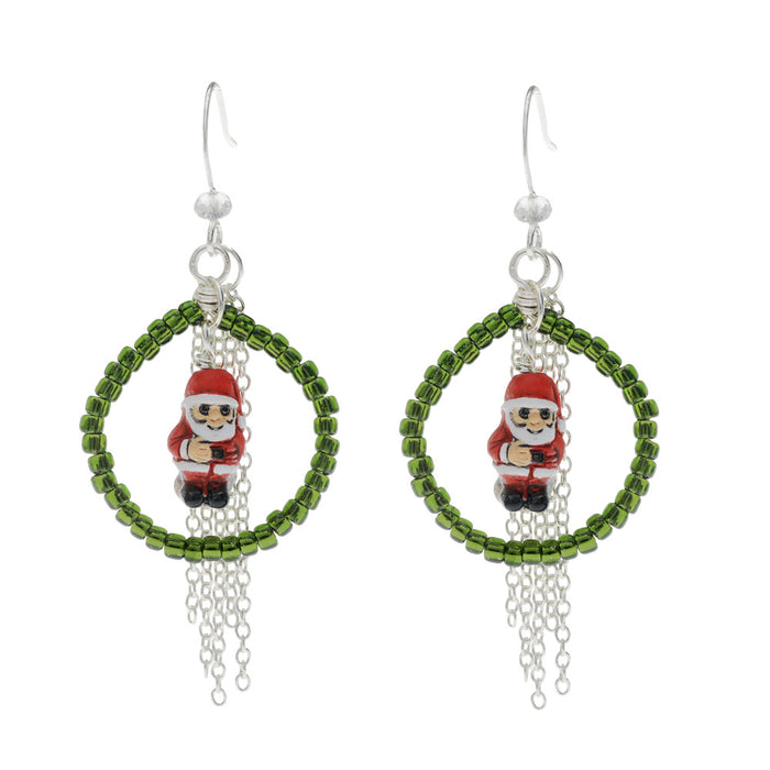 Retired - Santa Baby Earrings