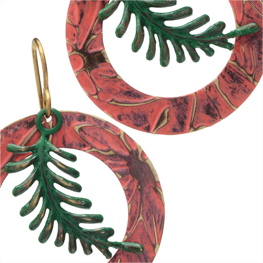 Tropic Fern Earrings
