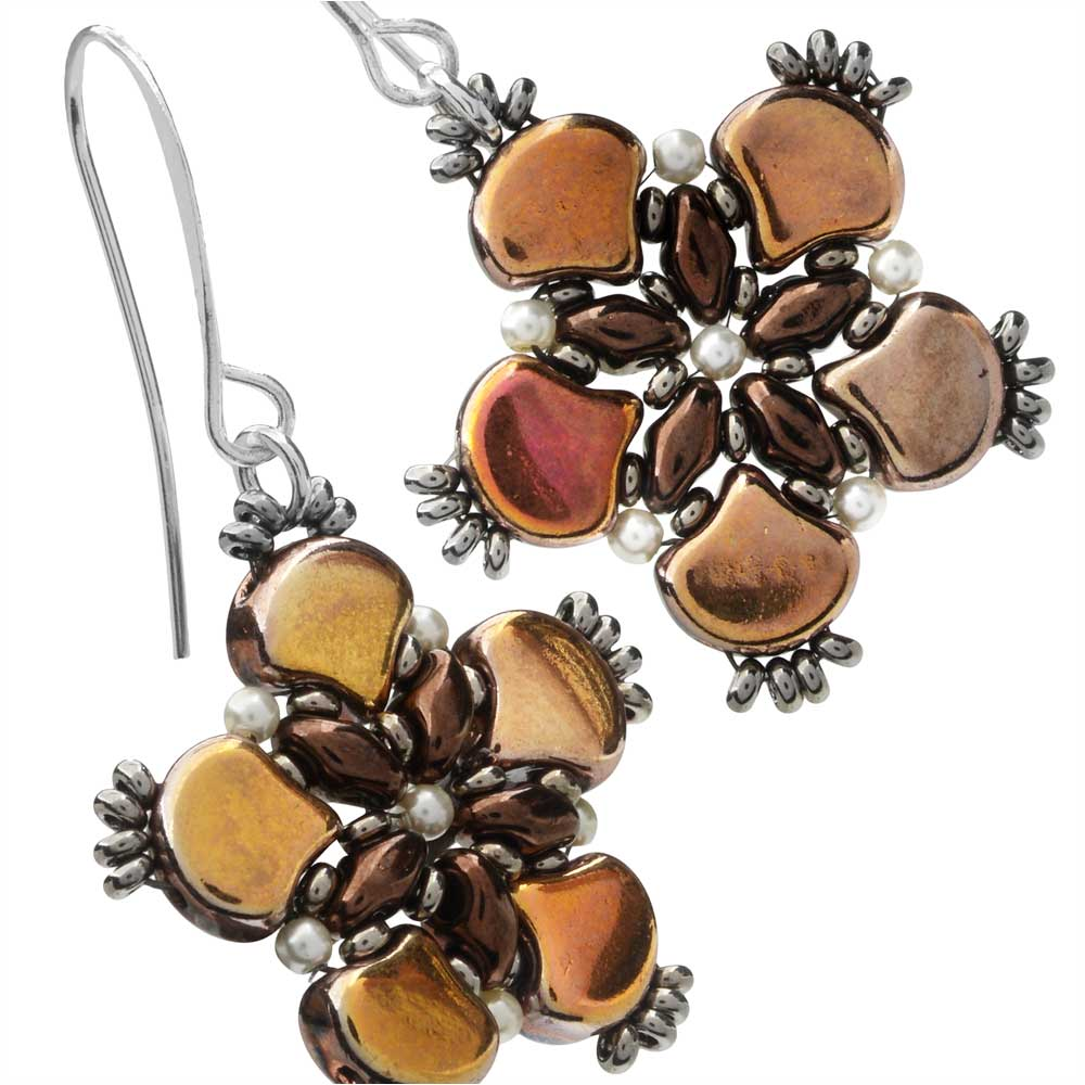 Chocolate Lily Earrings