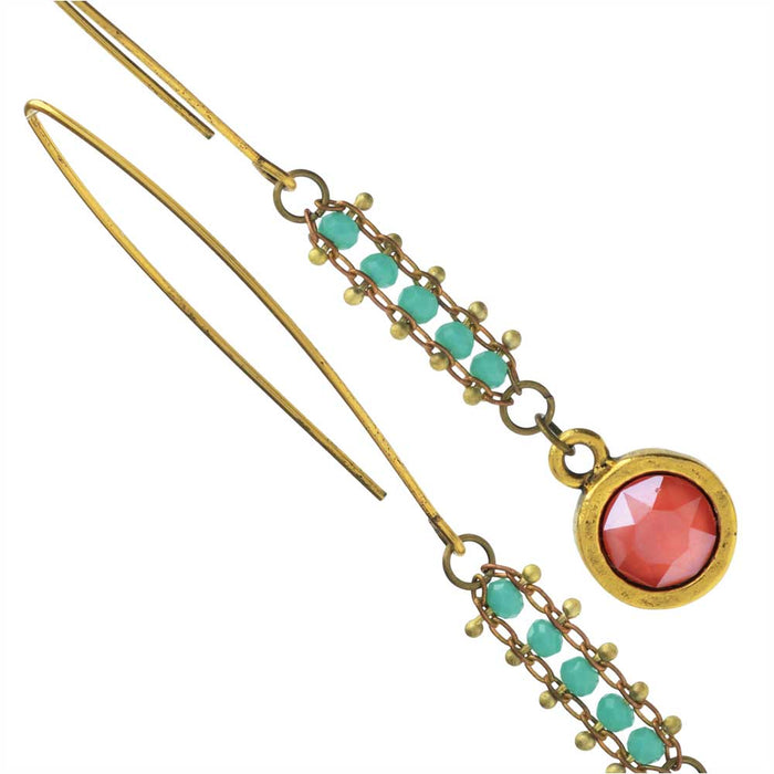 Sintra Earrings in Gold