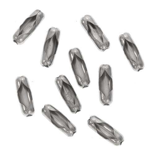 Stainless Steel Ball Chain Connector Clasps - Fits 2.4mm (10)